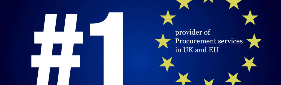 Number 1 provider of Procurement Services in UK and EU